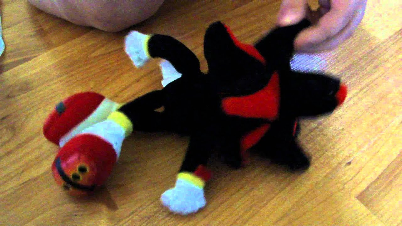 Kids Play With Sonic Exe Toys And Super Sonic Exe Toys: Sonic X Shadow Stuffed Animal Toy