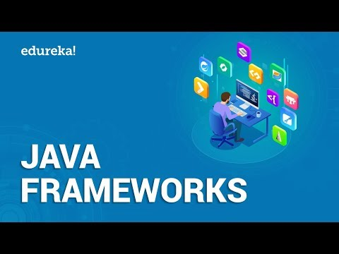 Top 10 Java Frameworks in 2021 | Spring, Hibernate, Struts, GWT,JSF | Java Training | Edureka