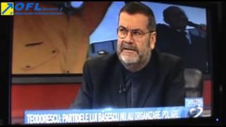 Bogdan Teodorescu laAntena3 cuRadu Tudor despreCrin Antonescu 9 februarie 2014
