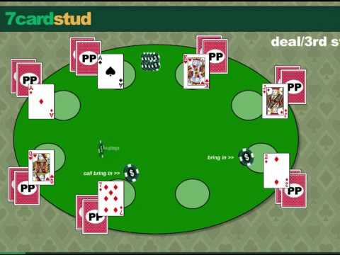 Learn how to play 7 card stud.