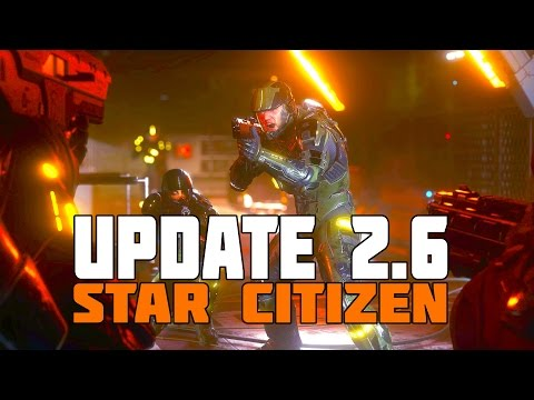 Star Citizen 2.6 Update - Star Marine, Engine Change, Arena Commander, Pirate Swarm