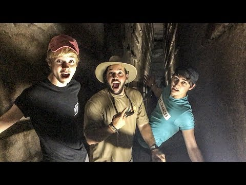 EXPLORING INSIDE THE GREAT PYRAMIDS! (Rare Footage)