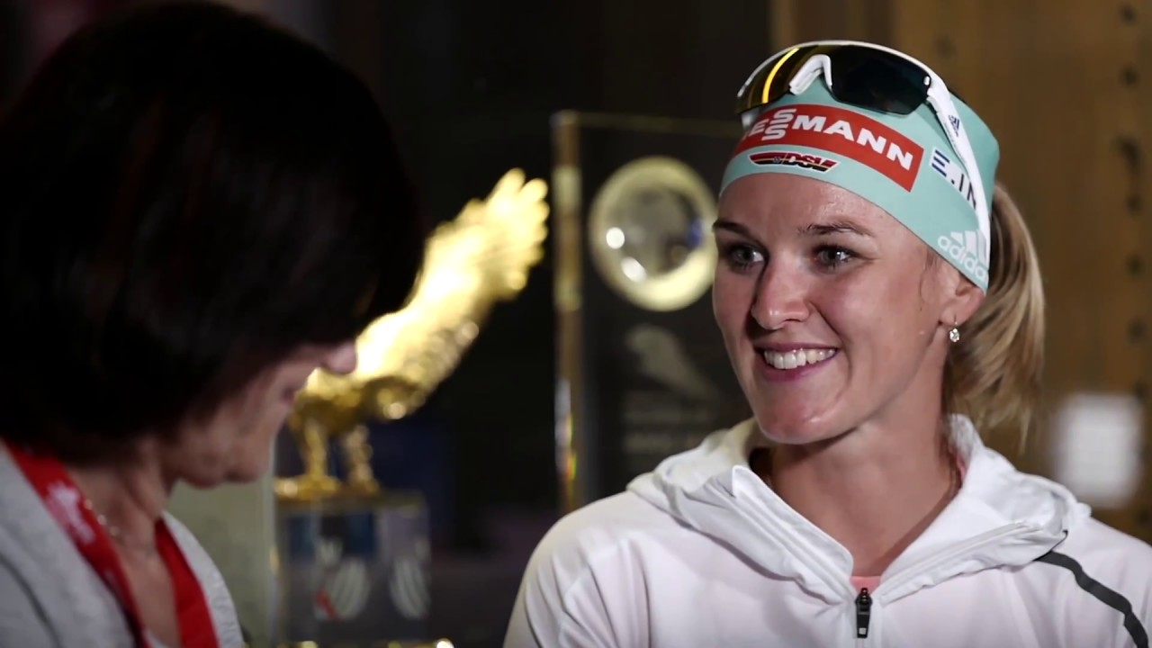 Biathletin Denise Herrmann im xc-ski.de Sommerinterview