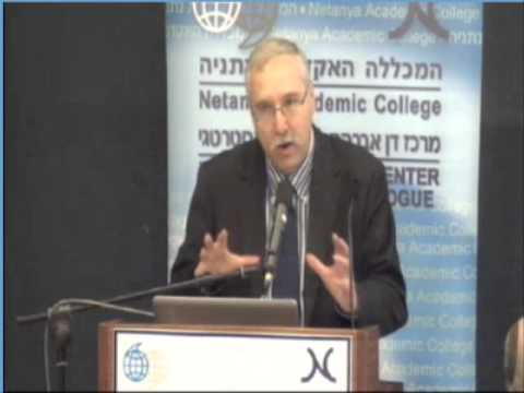 Prof. Gerald Steinberg, Netanya Conference, April 2012