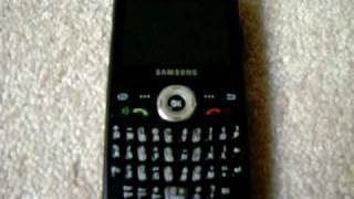 Cingular/AT&T Samsung SGH-i607 (Black Jack)