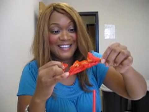Sunny Anderson sunny anderson eats a bhut jolokia - youtube