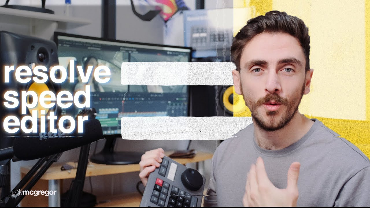 Davinci Resolve Speed Editor Hands On Impressions Review Youtube