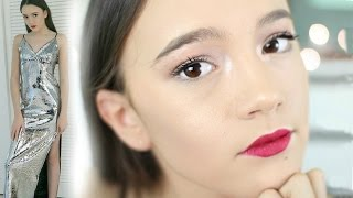 How To Look HOT For The HOLIDAYS (Hair, Makeup, Outfit) | Fiona Frills