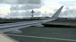 JetBlue Airbus A320 Pushback - Taxi - Takeoff and Climb at New York JFK