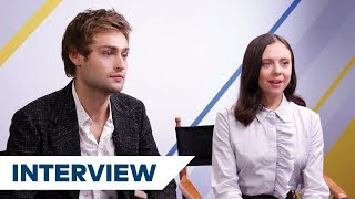 Are Douglas Booth and Bel Powley The Support Team For Mary Shelley? | Mary Shelley Interview