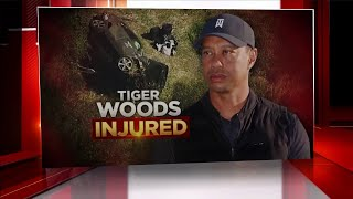 Details Of Tiger Woods' Injuries Highlight Difficult Road Ahead