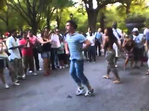 Georgian People Dancing In Central Park (EUROPE)