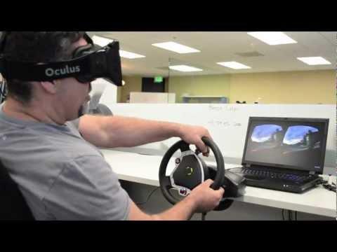 Unity Integration Teaser: Oculus DriVR