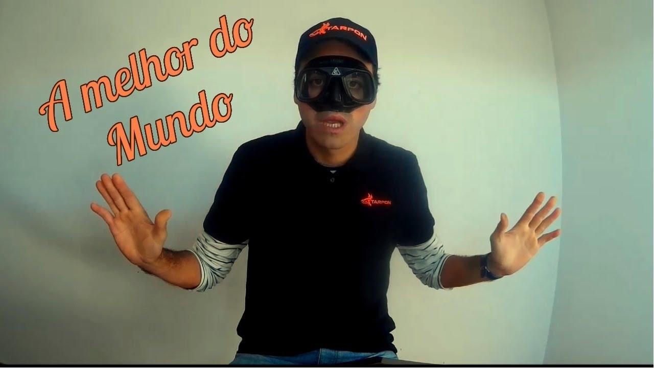 f58a90bbc A melhor mascara de mergulho do mundo - Atelier de caça submarina ...