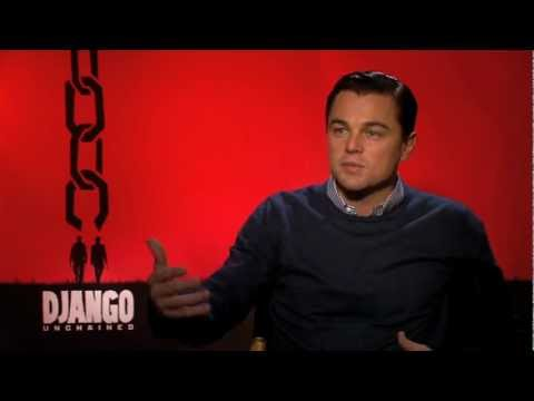 Leonardo DiCaprio Interview -- DJANGO UNCHAINED
