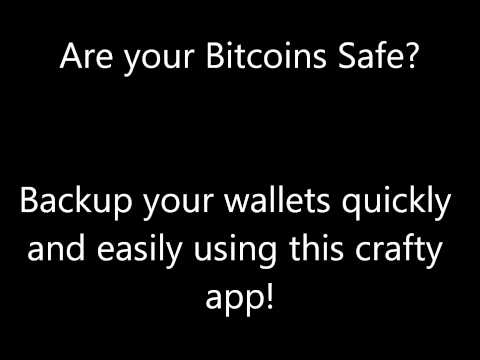Bitcoin Wallet Backup!