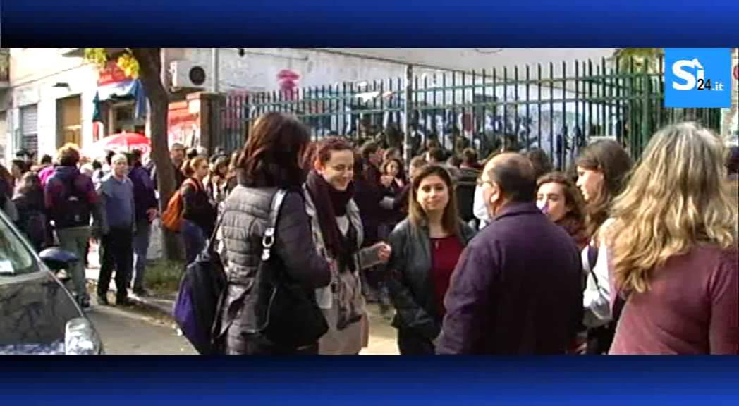 Studenti in protesta viaggio al liceo classico umberto i for Liceo umberto palermo
