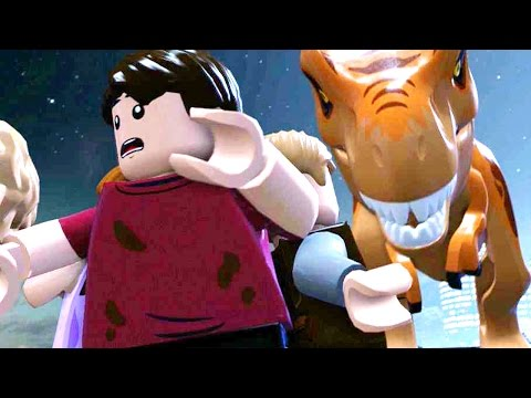 LEGO JURASSIC WORLD - All Cut scenes [FULL] [MOVIE]