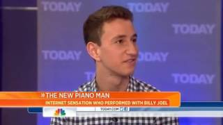 Daring student wows Billy Joel with piano skills