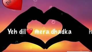 Tere Samne Aa Jane Se ! Ye Dil Mera Dhadka H  ! Image Written Songs!  Rclipse Tv Channel