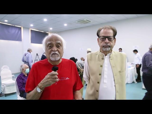 Anwar Maqsood | Covid-19 Vaccination Centre | Arts Council Karachi  #acpkhi #artscouncil #covid_19