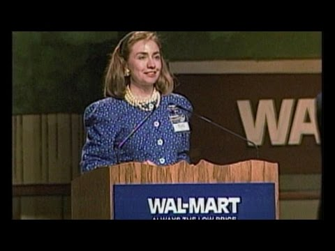 How Hillary Clinton Is Connected To Walmart