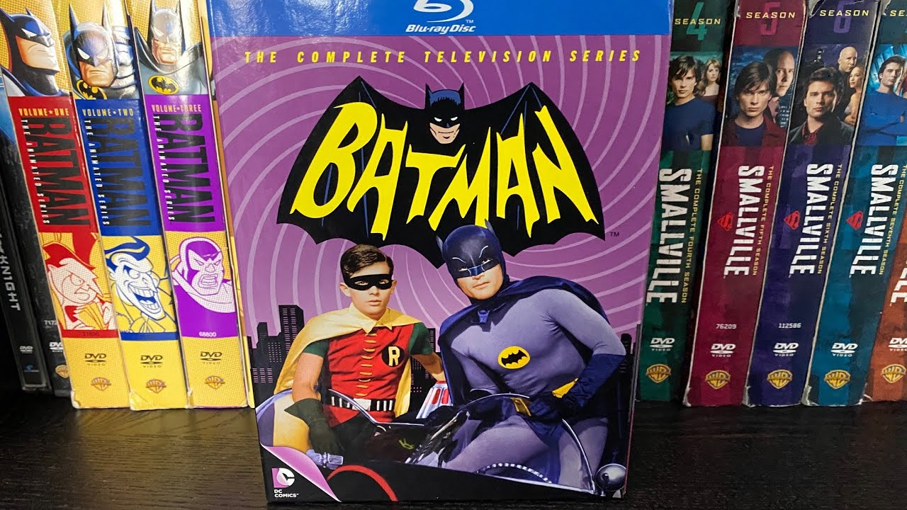 Download Batman The Complete Television Series (1966-1968) Blu-Ray Unboxing