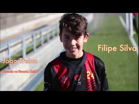 Filipe Silva no Jogo treino Gouveia vs Guarda Unida