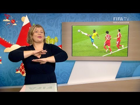 FIFA WC 2018 - SRB vs. BRA – for Deaf and Hard of Hearing - International Sign
