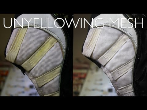 How to Unyellow/Whiten Mesh