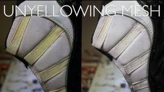 How to Unyellow/Whiten Mesh