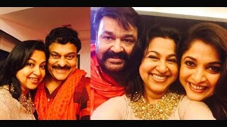 Sixth Edition Of 80's South Indian Actors Club Reunion : Mohanlal, Chiranjeevi, Kushbu, Radhika