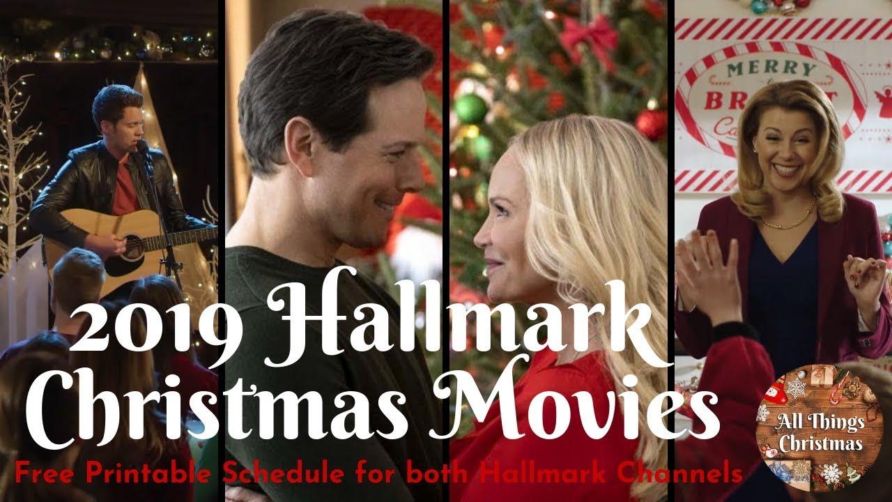 Hallmark New 2019 Christmas Movies Schedule - YouTube