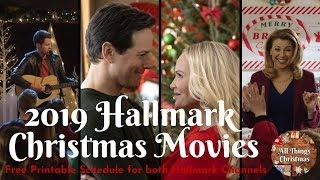 Hallmark New 2019 Christmas Movies Schedule