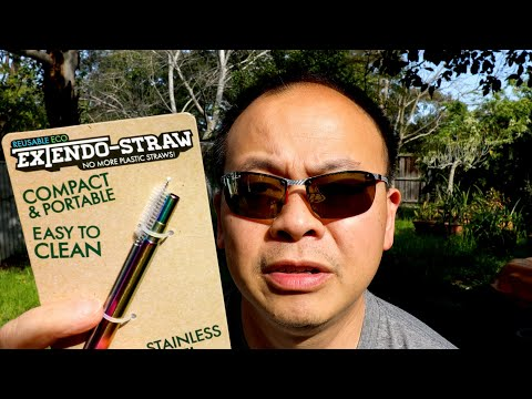 Metal Straws- Save Our Environment!