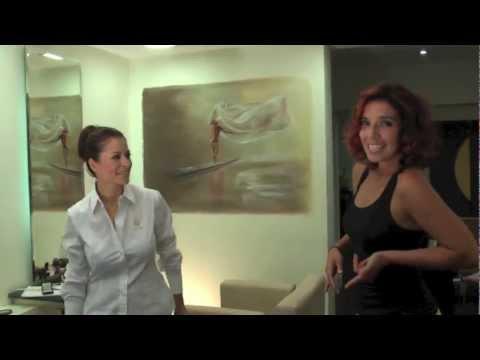 Vorher - Nachher Hair Styling Musical mit Mahnaz und Ria (vom Shakira Look zum Whitney Houston Look)