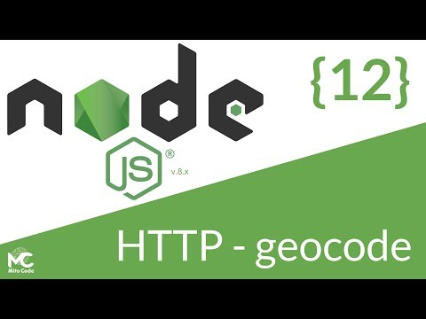 Node.js Tutorial - 12 HTTP Request