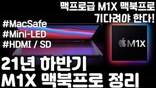 21년형 M1X탑재 신형 맥북프로 예상 소개!! 이것만…