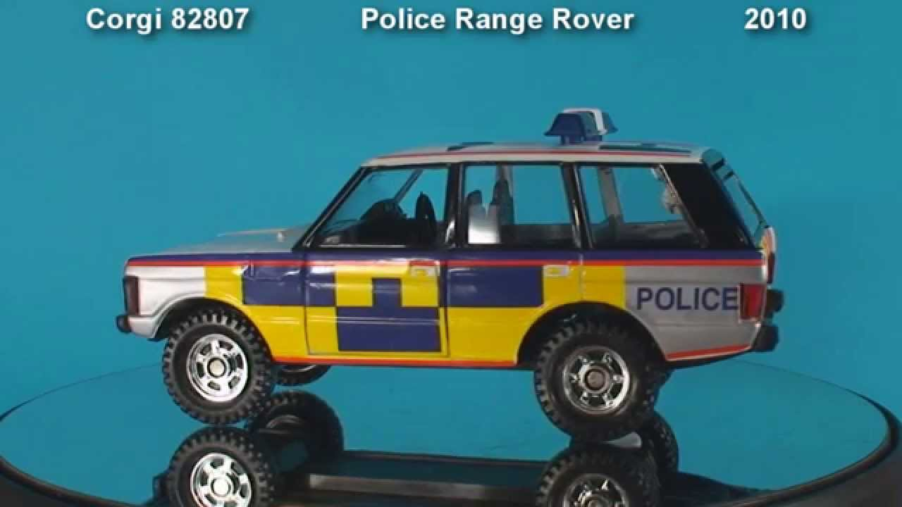 Cars 30k >> Police Range Rover Corgi Toys Die-cast Model - YouTube