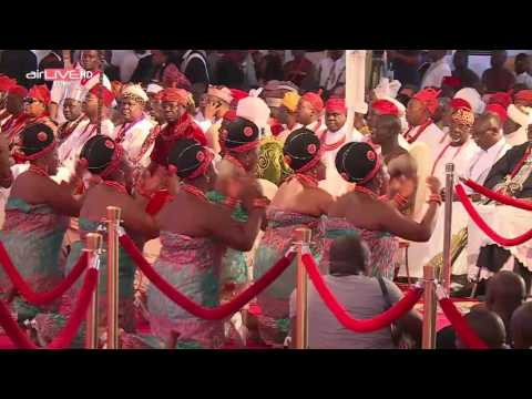 Oba of Benin Coronation pt2