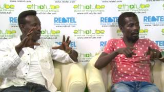 Comedians Bini Dana and Tariku 80 - September 2015 | Interview