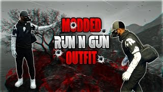 How To Create a Modded RunNGun Outfit Using Rare Clothing Glitches | GTA 5 Online Patch 1.39