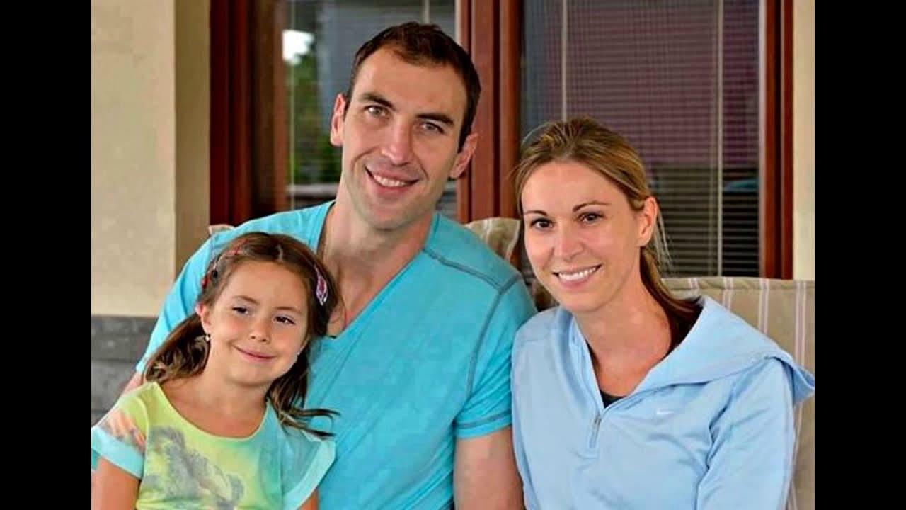 Zdeno Chara And His Wife Tatiana Chara Youtube