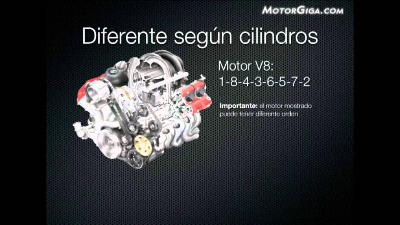 Orden de encendido de un motor v6 chevrolet