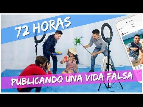 72 HORAS PUBLICANDO UNA VIDA FALSA EN INSTAGRAM (BROMA) // Familia L
