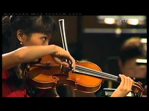 Nancy Zhou Ying plays Sibelius Violin Concerto in D minor, op.47