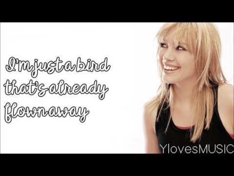 Hilary Duff - So Yesterday (Lyrics)