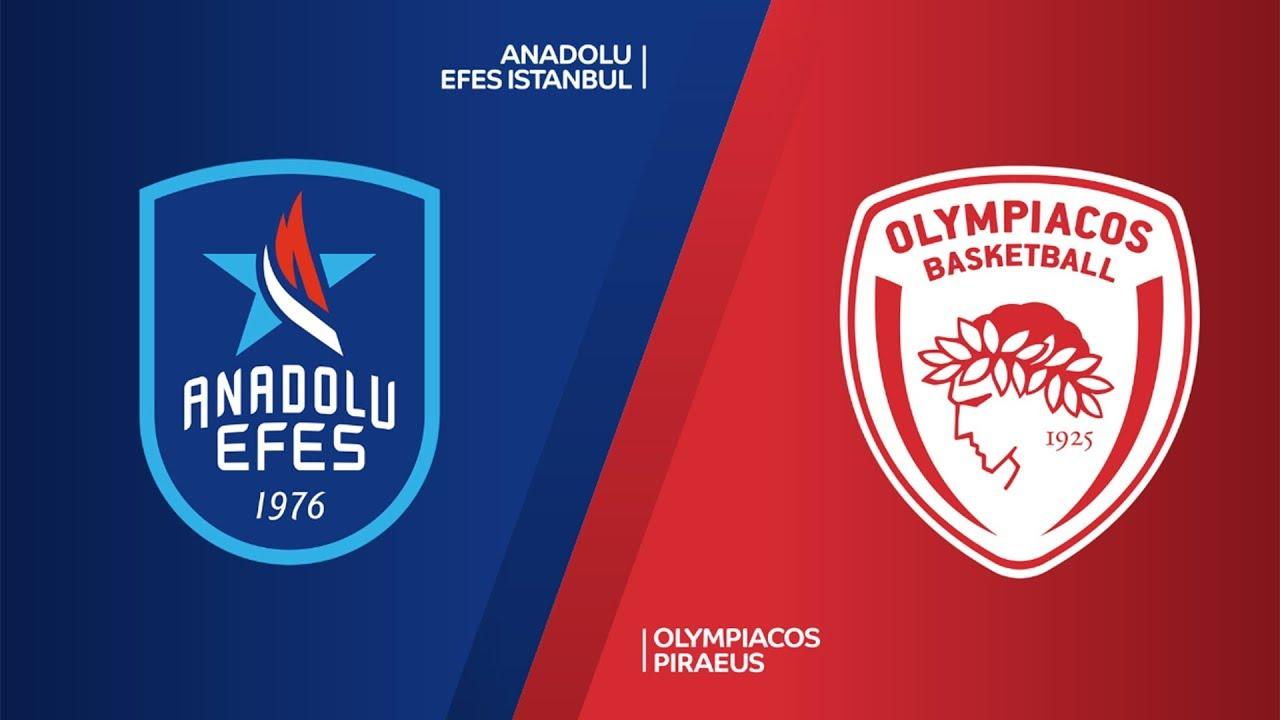 ÖZET | Anadolu Efes - Olympiacos  Videosu