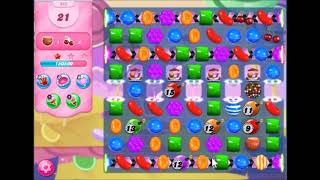 Candy crush saga level 962 No booster, 3 stars J