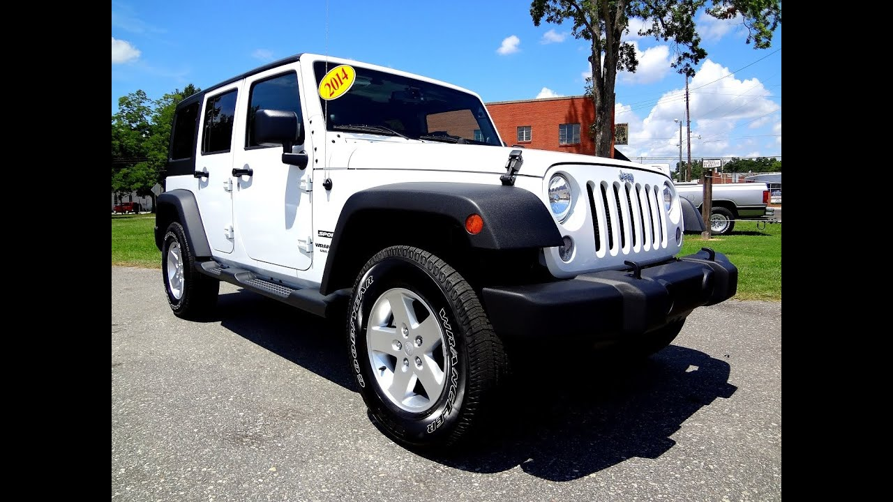 2014 jeep wrangler unlimited sport - youtube